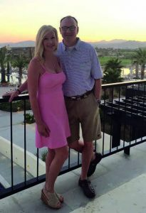 David McCormick with his wife, Lisa in Florida.
