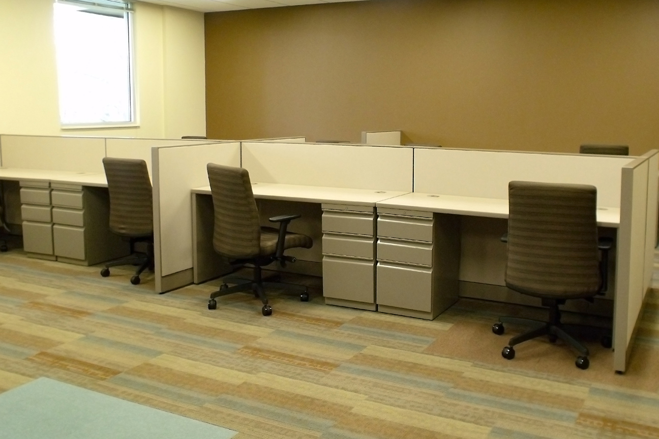 Benching System by Omega Commercial Interiors