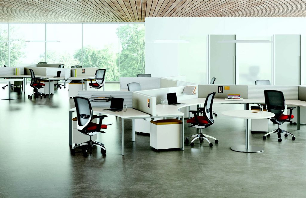 XSuede Benching System by Kimball Office