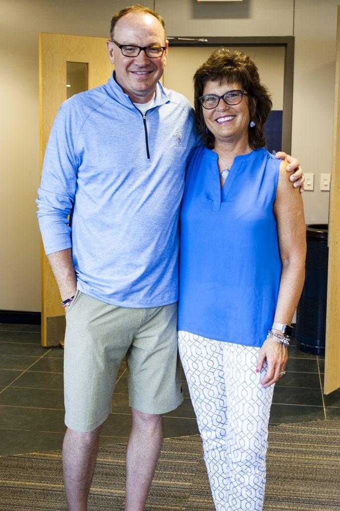 David McCormick and Peggy Lovio WV Black Bears Game 07/14/17
