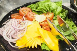 Fresh Vegetables and Cheese Varieties at the WV Black Bears Game 07/14/17