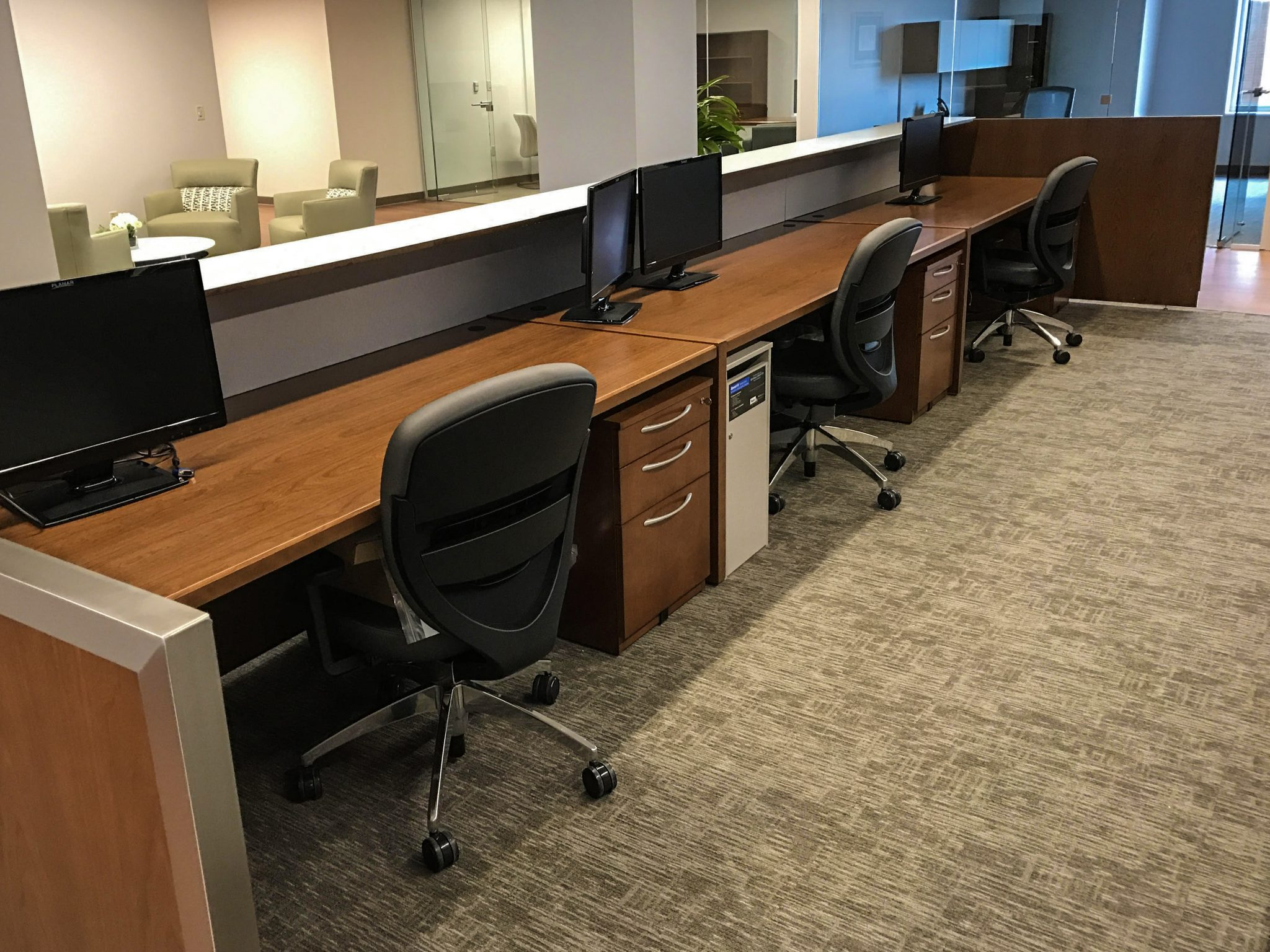 WVU Medicine adding glass to divide offices and conference rooms
