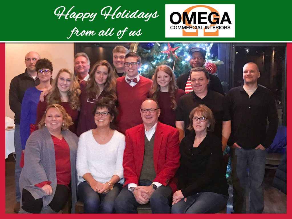 2017 Employees at Omega Commercial Interiors