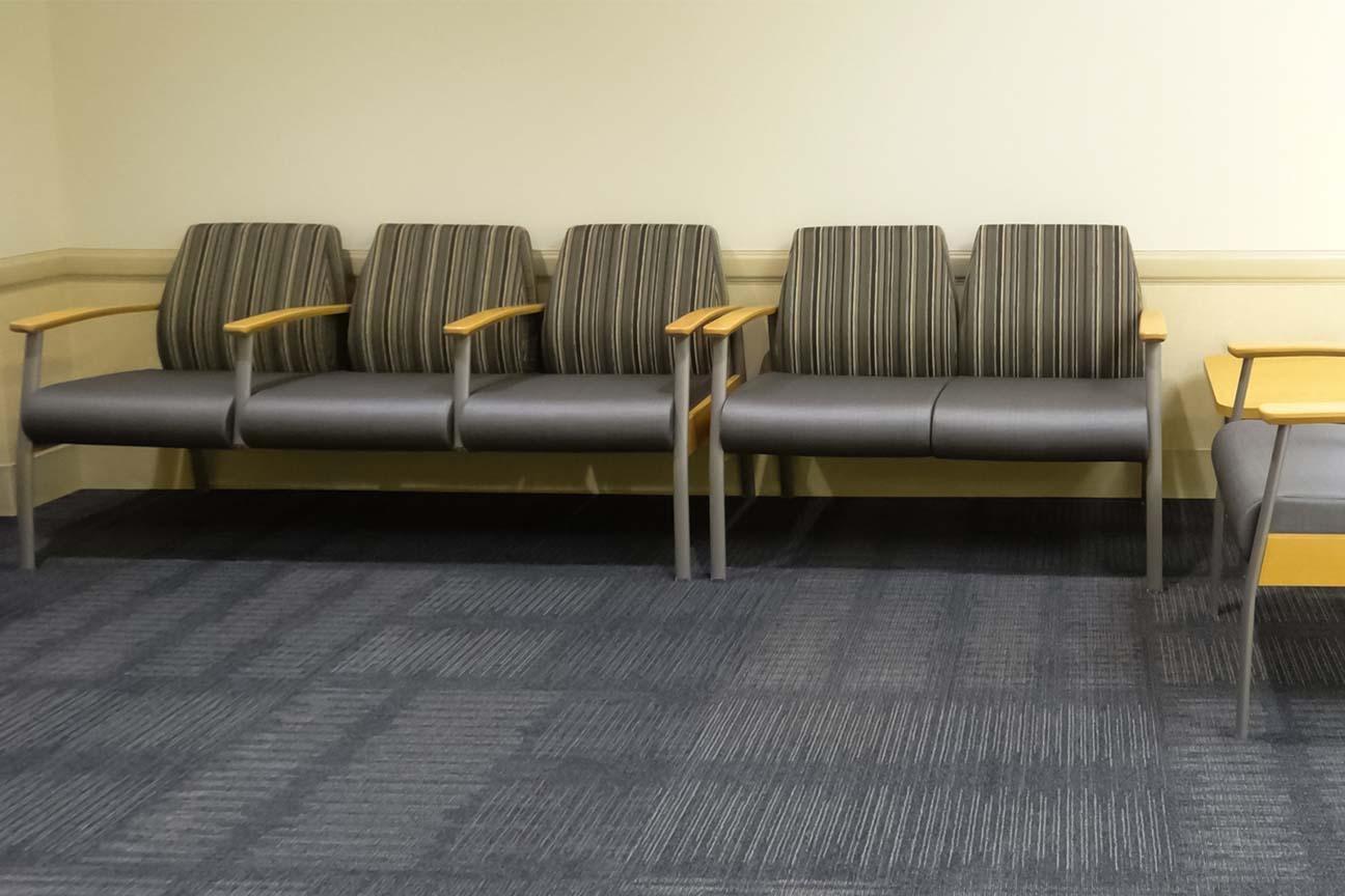 Boone Memorial Hospital- Waiting Area with Bariatrics