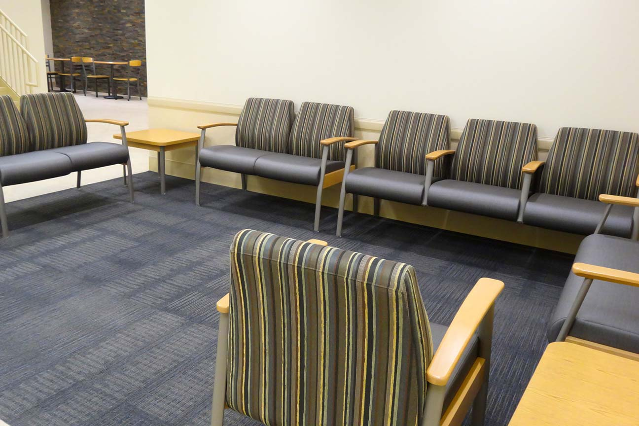 Waiting and Dining Area at Boone Memorial Hospital