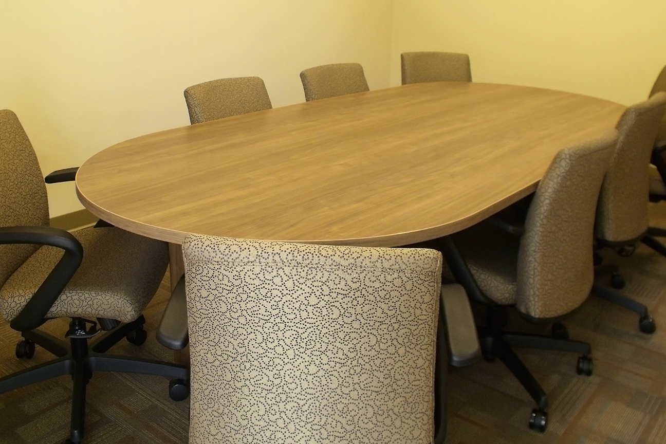 Conference Table and Chairs by Omega Commercial Interiors