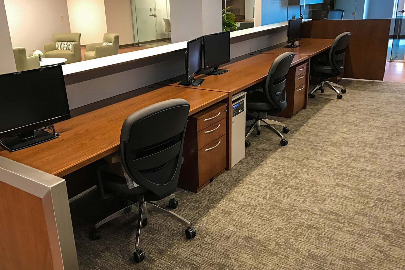 Hospital Work Station with Conference Area