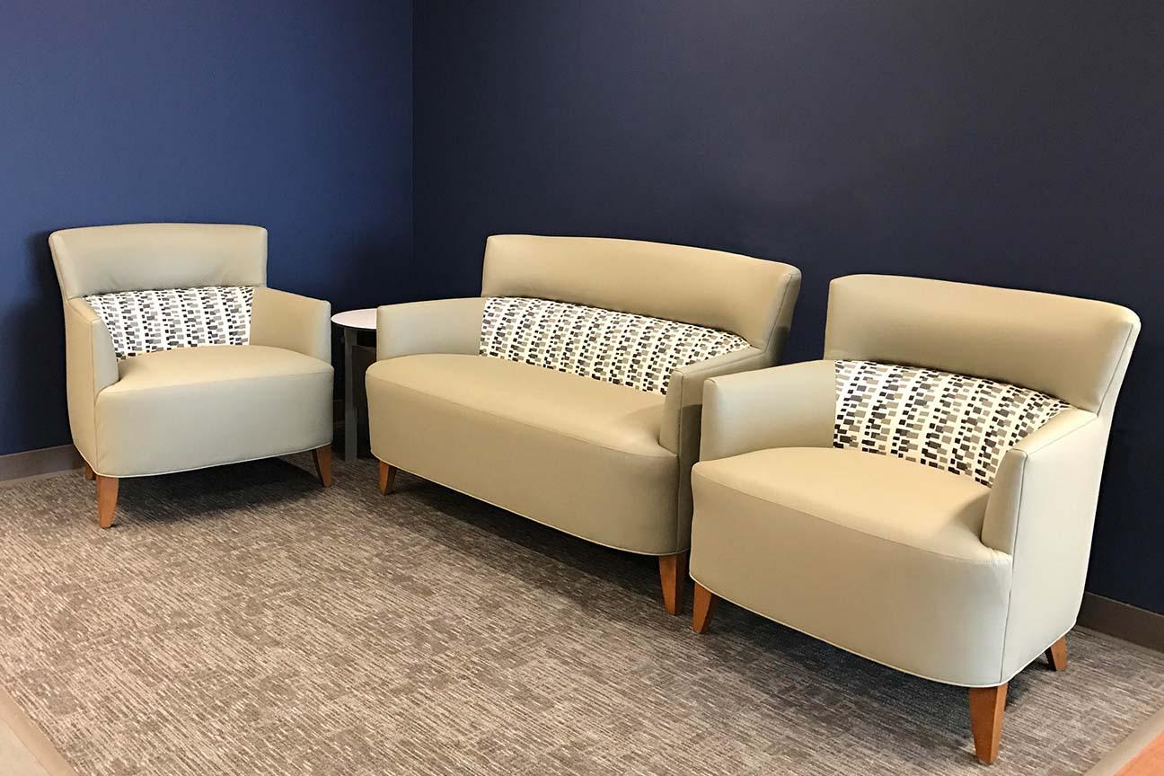 Hospital Semi-private Waiting Area