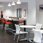 Freedom KIA Dealership-Internet Cafe designed by Omega Commercial Interiors
