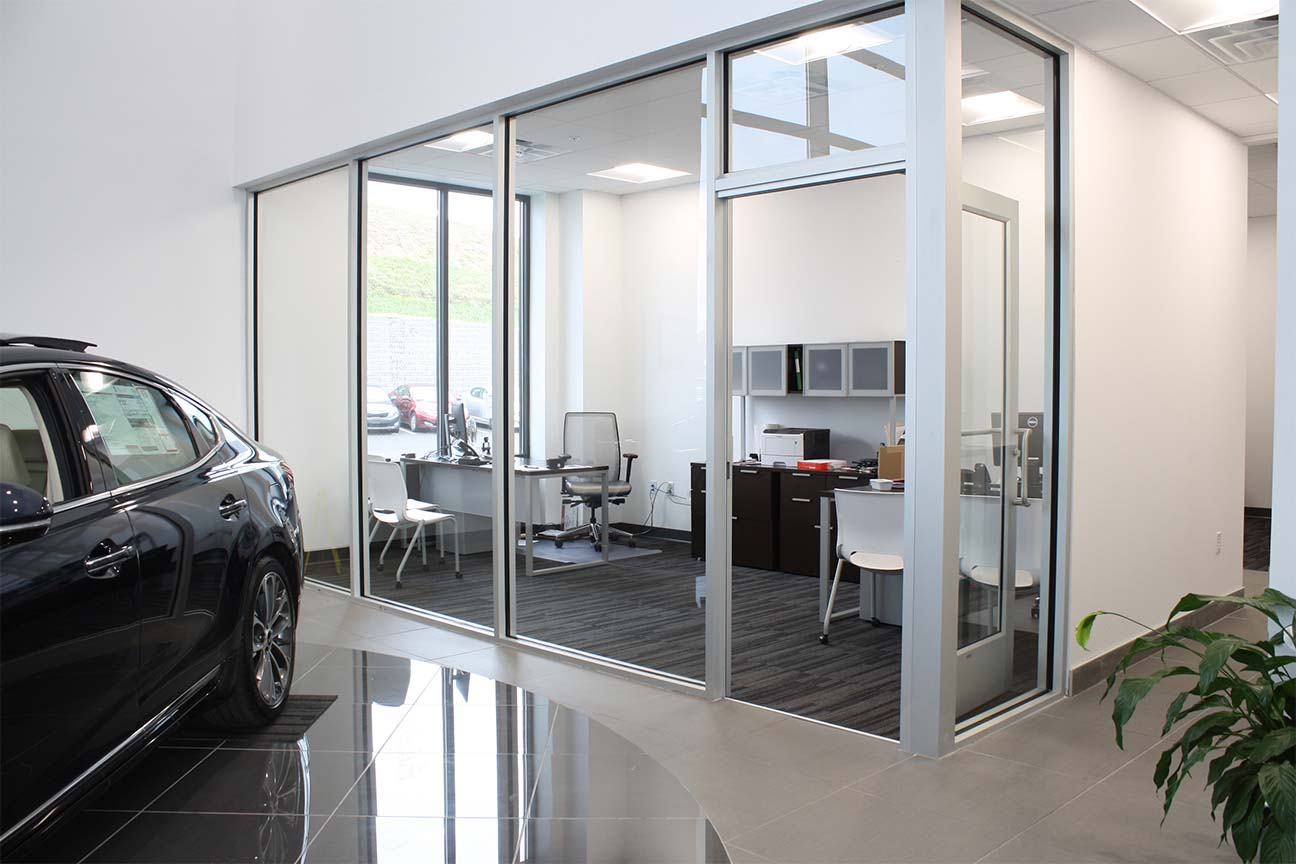 KIA dealership-office furniture-designed by Omega Commercial Interiors