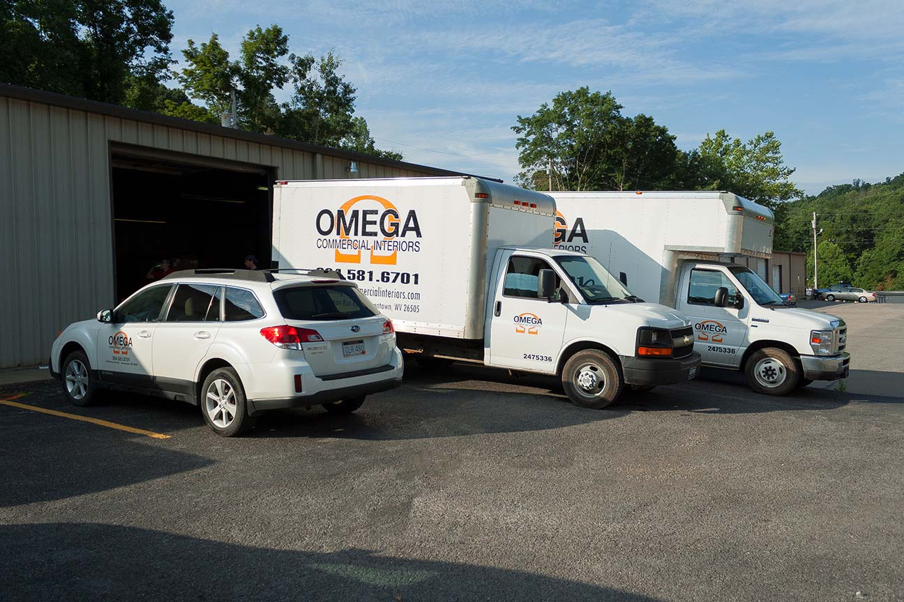 Omega Commercial Interiors Warehouse