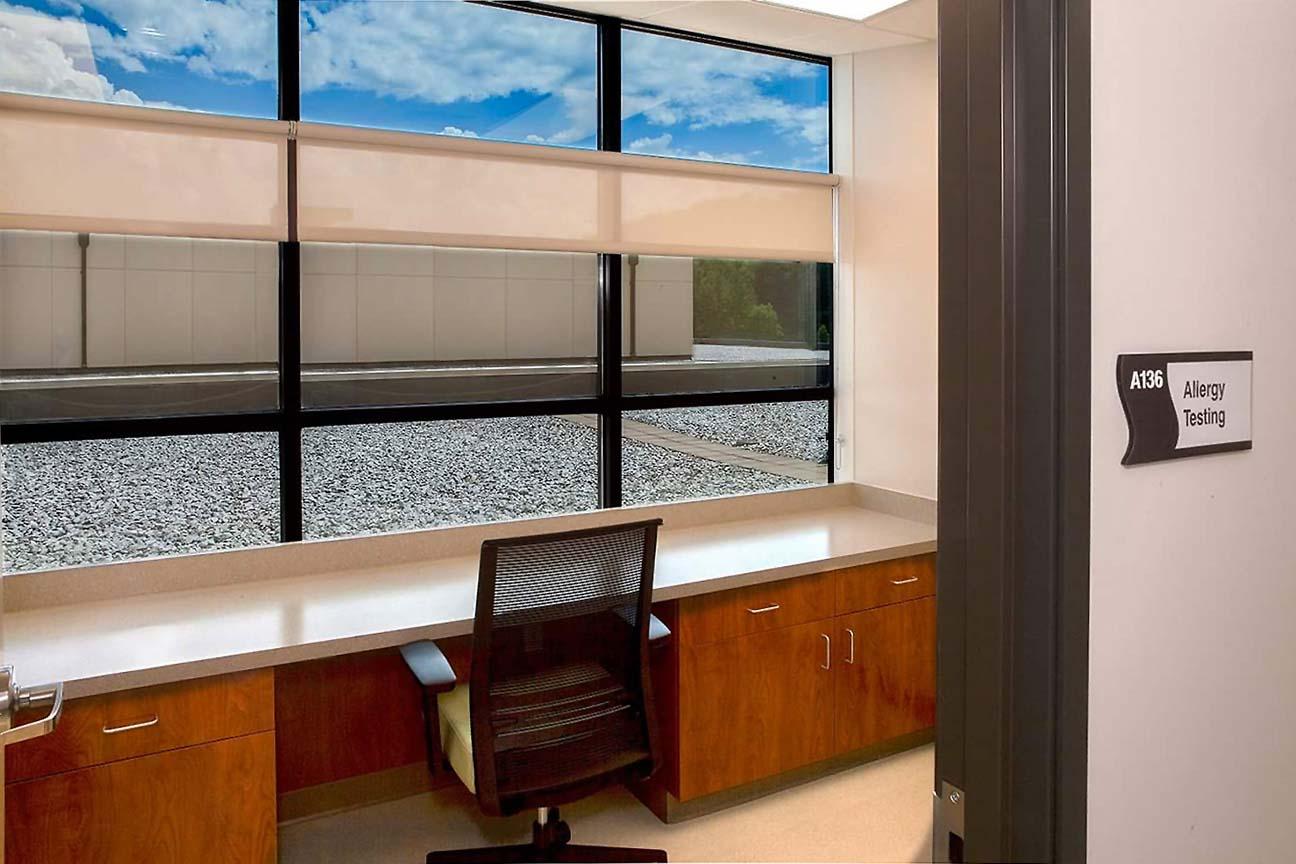 Hospital Patient Room- designers at Omega