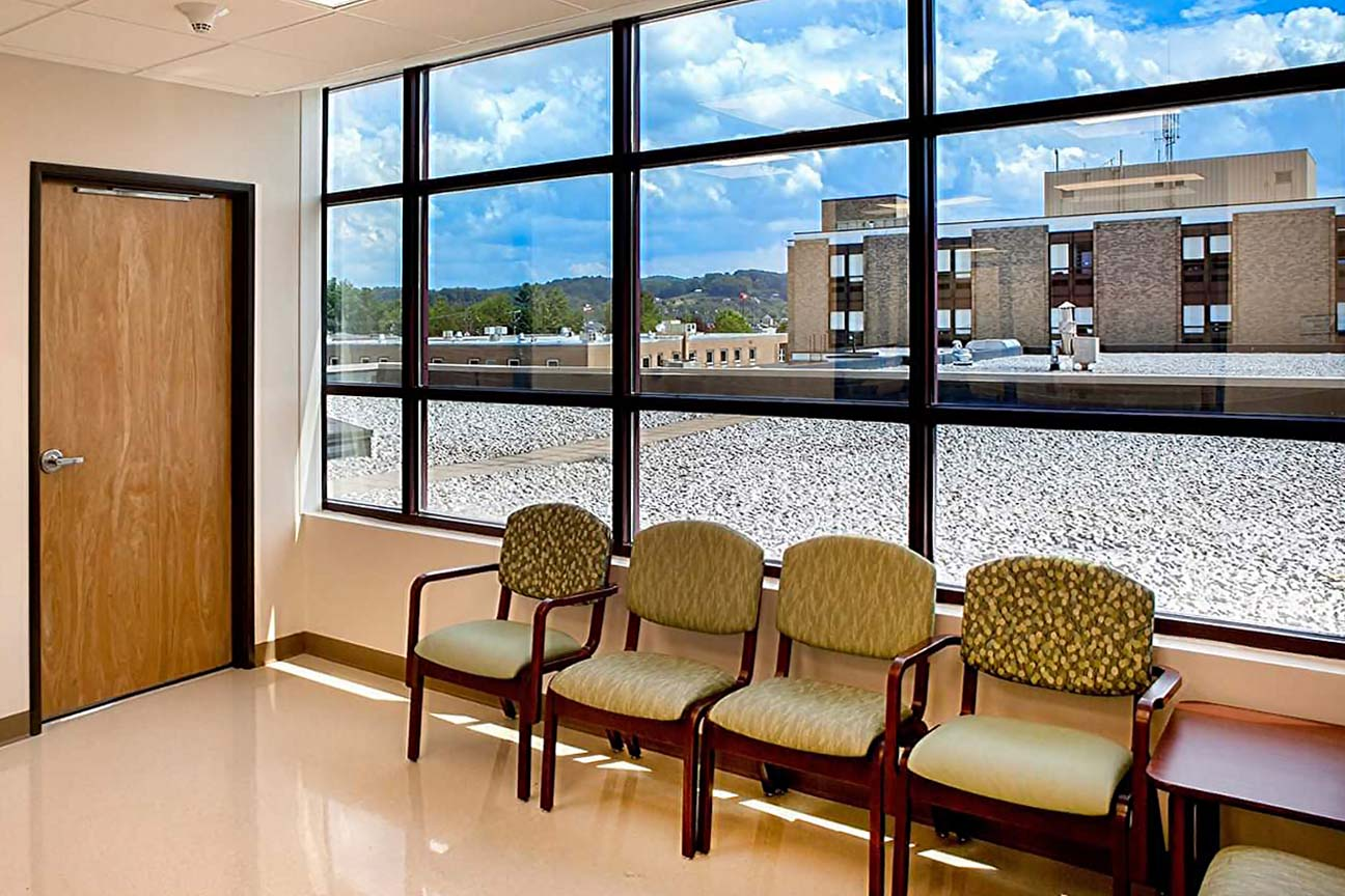 Hospital Lobby- designers at Omega