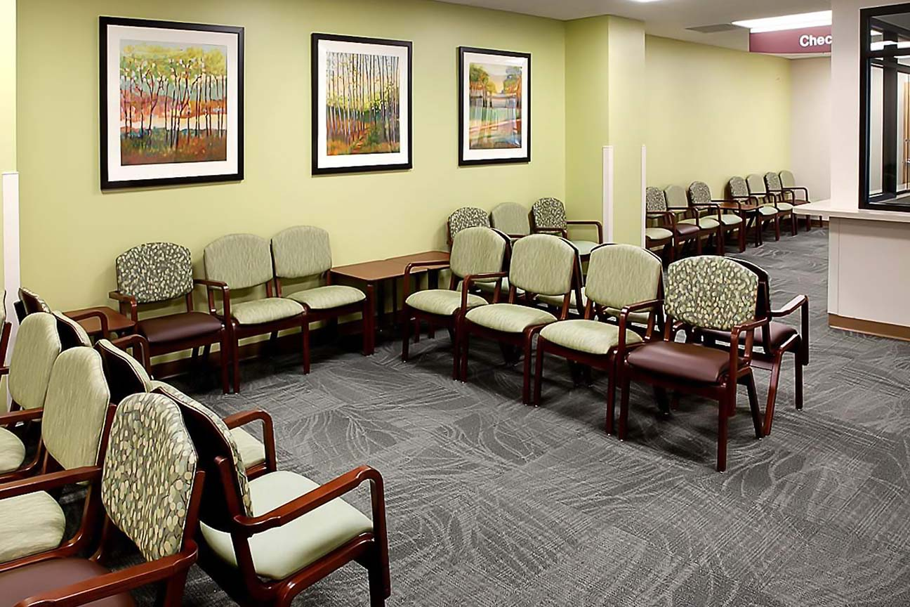 Hospital Waiting Area- designers at Omega