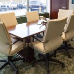 Bank Conference Room designed by Omega Commercial Interior Designers
