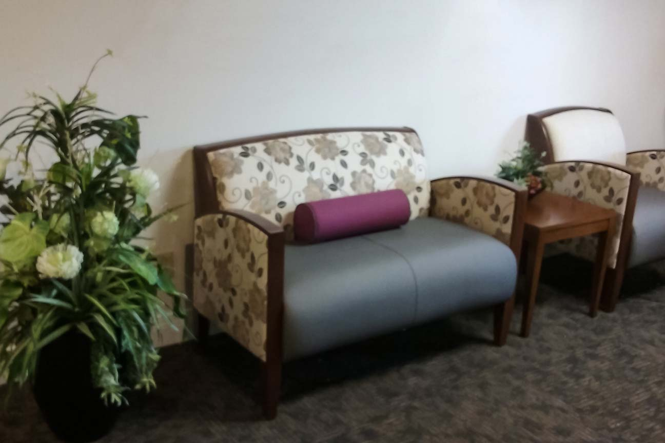 Academies- Waiting Area Love Seat- designers from Omega