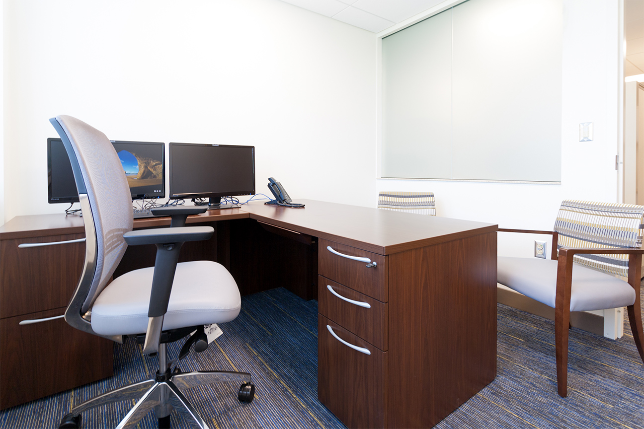 Office Desk / Corner Pedestals / Side Chairs
