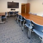 WVU Urgent Care- Conference and Media Room- Training- Designed by Omega Commercial Interiors