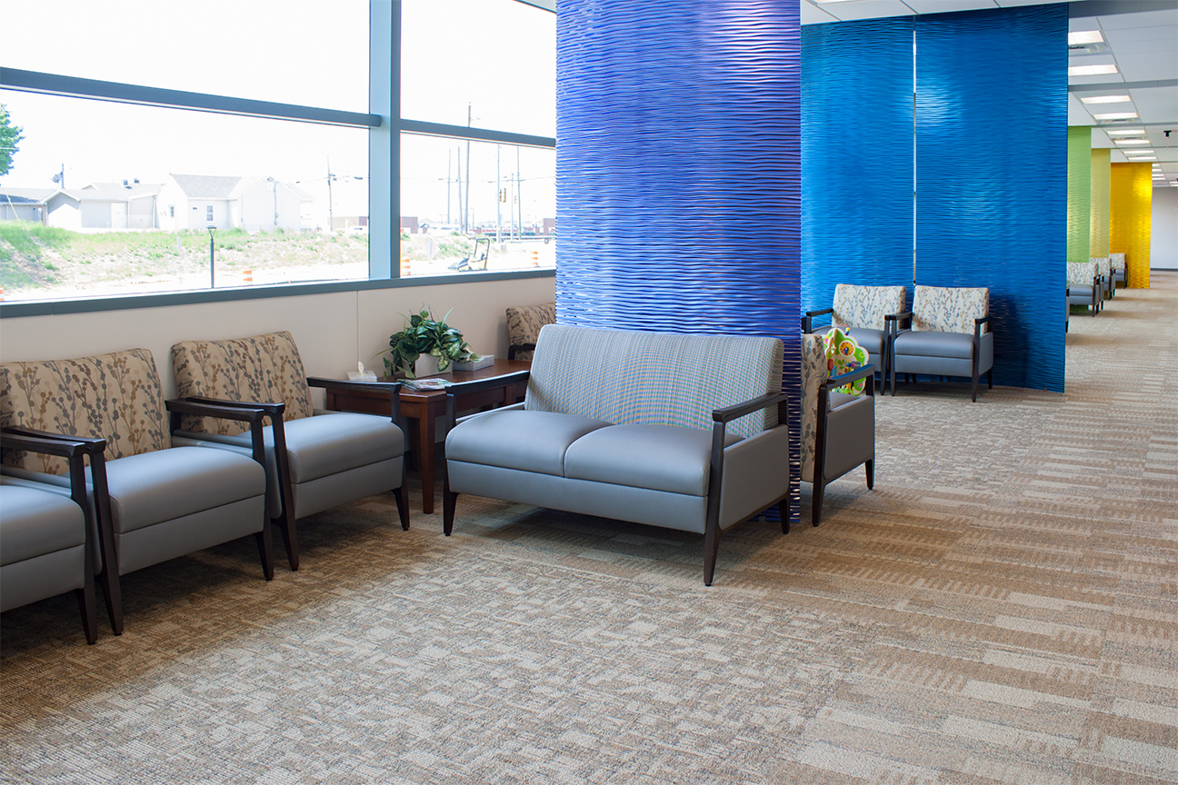 Architectural Walls / Bariatrics Seating