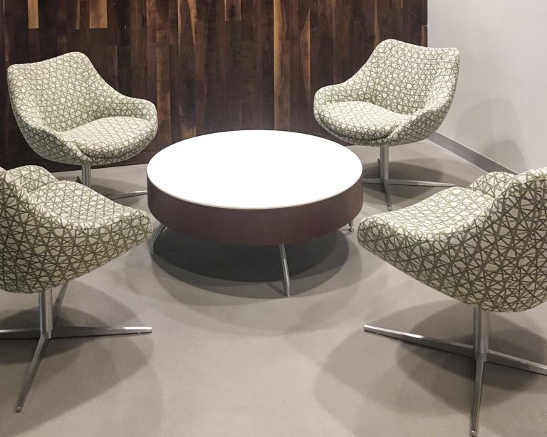 Mid Century Modern Look-small conference- MVB Bank Reston, Va