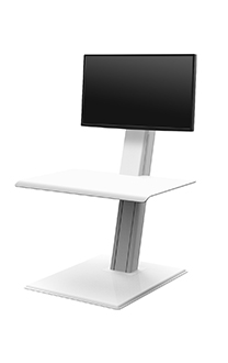 HumanScale Quickstand Eco for Single Monitor- sit-stand solution