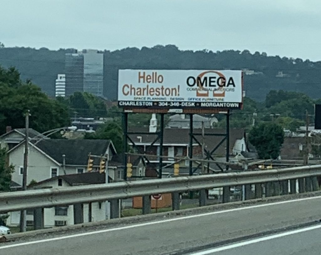 Omega Commercial Interiors in Charleston, West Virginia.