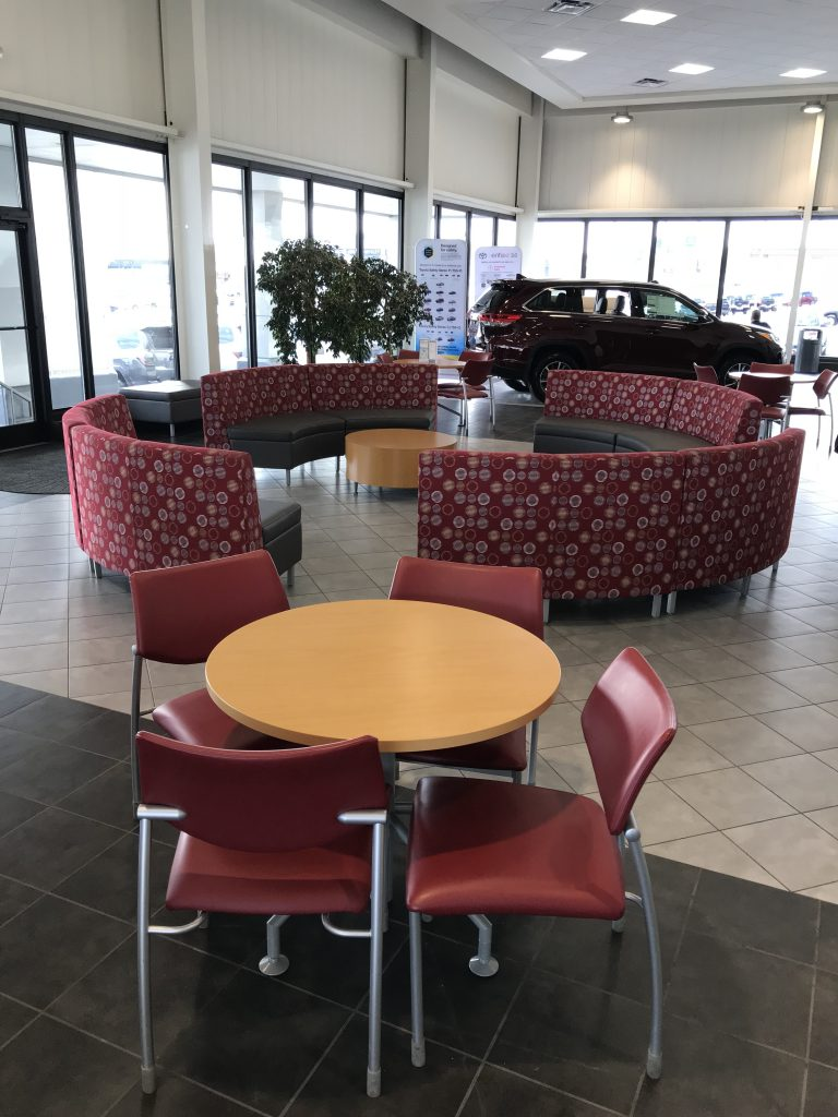 Lounge and Conference Seating - L and S Toyota - Beckley, WV
