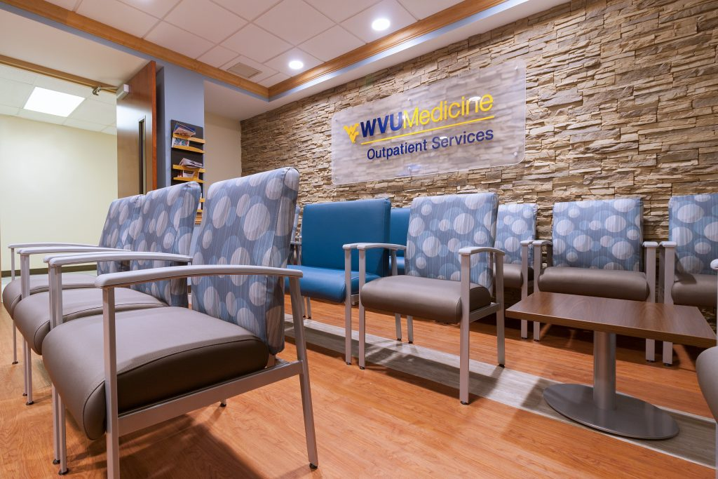 Waiting Room Seating - WVU Med Outpatient Services - Beckley, WV