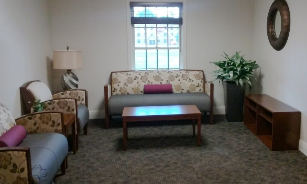 Lounge Area - WVU School of Osteopathic Medicine - Lewisburg, WV