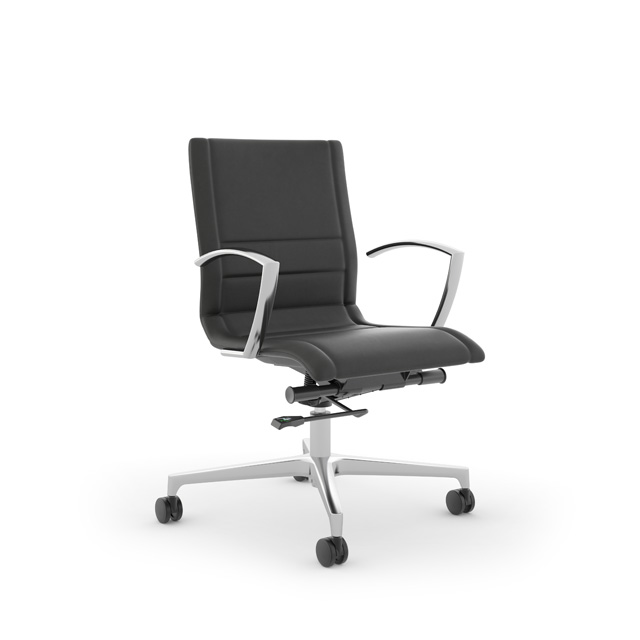 Niles Mid-Back Conference Chair by Kimball