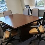 Kimball® Dock™ Conference Table with Joya™ Conference Chairs