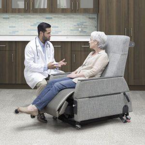 IOA Exam Chair Sitting Position