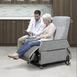 Consultation with the Patient in an IOA Exam Chair