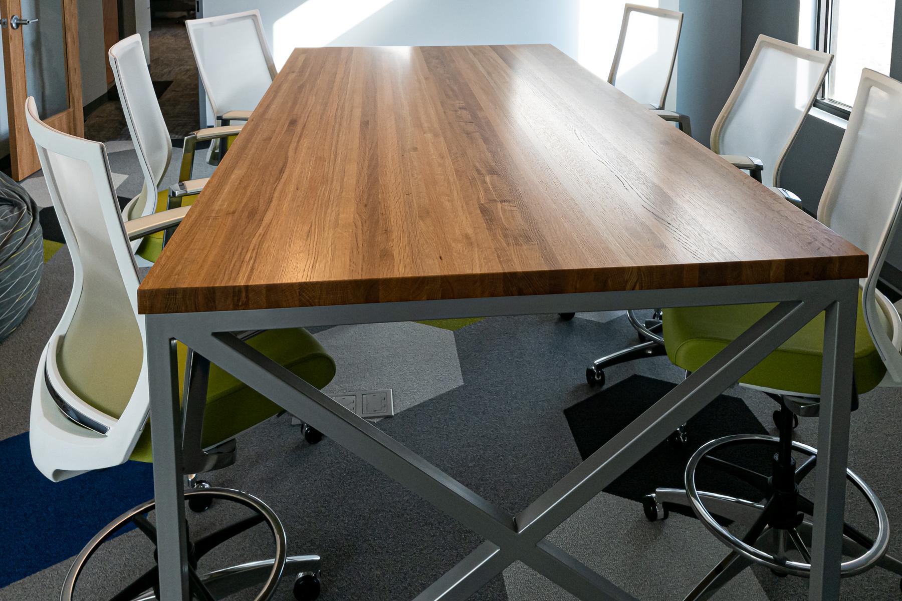 Kimball® Fixit™ Meeting Table and Kimball® Helio™ Task Stool