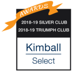 Awards 2018-2019 Silver Club, 2018-2019 Triumph Club Kimball Select